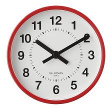2 Way Clock|Red