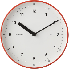 Wall Clock|Orange