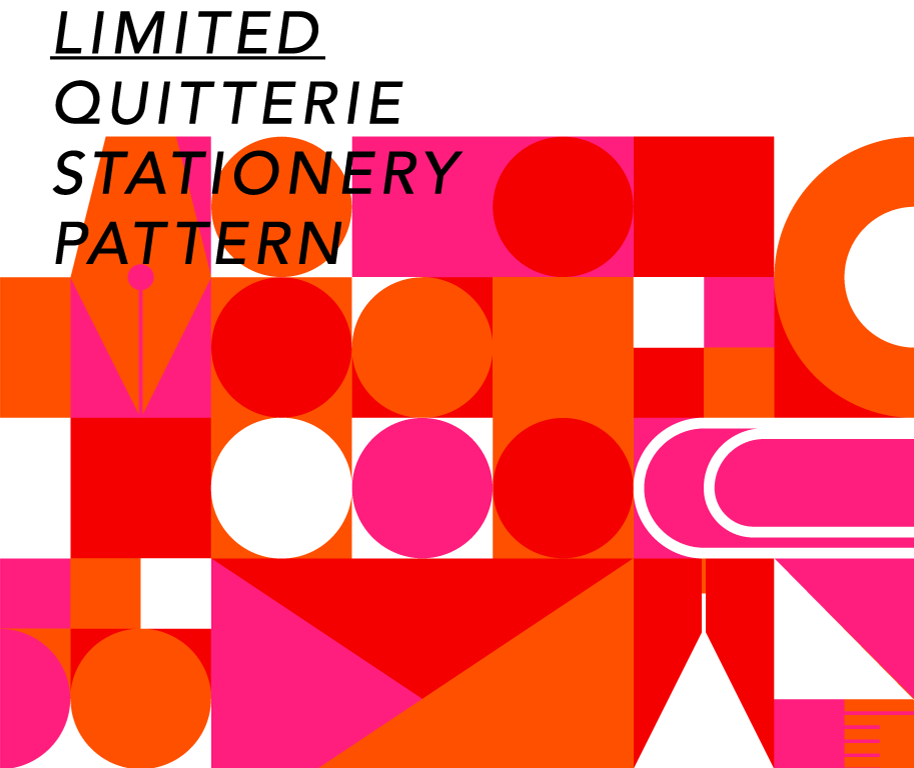 LIMITED QUITTERIE STATIONERY PATTERN
