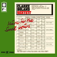 Clarke Boland Sextett / Music For The Small Hours