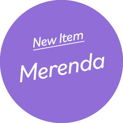 Merenda Cafe Counter Pop-Up Comming Soon