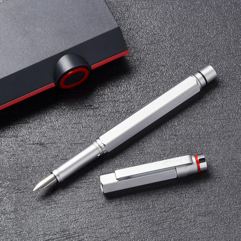 無骨で重厚感あふれる硬派な万年筆