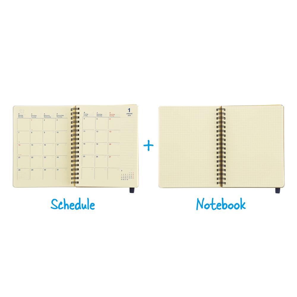 手帳の使い方07「手帳とノートをミニマルに持ち歩き」
