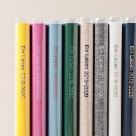 毎年人気の「リネン」ダイアリー、2020年版はどの表紙カラーがお好みですか?