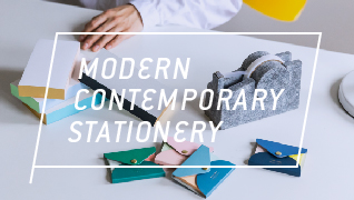 Modern contemporary stationery