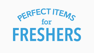 Perfect items for freshers