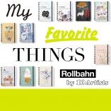 ロルバーン ポケット付メモとコラボした、10組のアーティストを一挙紹介!
